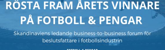 Rösta fram årets vinnare på Fotboll & Pengar