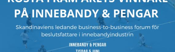 Rösta fram årets vinnare på Innebandy & Pengar!
