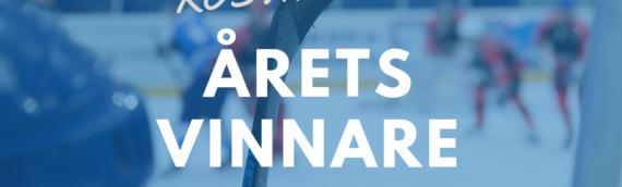 Rösta fram vinnarna för betydande insatser inom svensk ishockey!