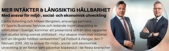 Skapa mer intäkter & en långsiktig hållbar verksamhet – Fotboll & Pengar 2019